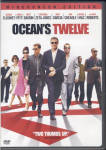 Ocean's Twelve. DVD movie w/ George Clooney, Brad Pitt, Matt Damon