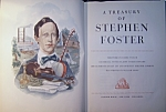 Click here to enlarge image and see more about item 071408001: A Treasury of Stephen Foster 1946 First Printing.