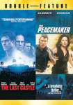 Click here to enlarge image and see more about item 081809020: The Last Castle/The Peacemaker. double feature. DVD.