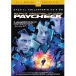 Click here to enlarge image and see more about item 081909003: Paycheck. w/  Ben Affleck, Uma Thurman. Special Collector's Ed.