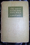 Click here to enlarge image and see more about item 082608006: The Boys' Sherlock Holmes 1936 HC