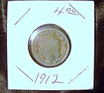 Liberty Head V Nickel 1912