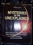 Click here to enlarge image and see more about item 091708008: Mysteries of the Unexplained. Reader's Digest. HC with DJ.