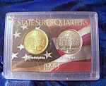 Click here to enlarge image and see more about item 092308009: State Series Quarters 1999-P