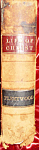 Click here to enlarge image and see more about item 092707001: Fleetwood Life of Christ 1860 leatherbound 680 pages