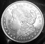 Click here to enlarge image and see more about item 101008013: Morgan Silver Dollar 1921