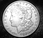 Click here to enlarge image and see more about item 101508004: Morgan Silver Dollar 1921