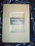 Click here to enlarge image and see more about item 102508006: Agricultural Policy of the United States 1961 HC by Harold G. Halcrow