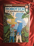 Click here to enlarge image and see more about item 110107001: ROBOTECH MACROSS SAGA 1985 ISSUE 26