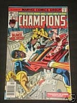 Click here to enlarge image and see more about item 110207001: THE CHAMPIONS 11 BRONZE AGE COMIC BOOK BLACK GOLIATH