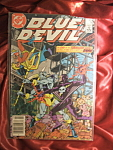 Click here to enlarge image and see more about item 110307022: BLUE DEVIL Issue #9 Comic Book