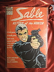 Sable: Return Of The Hunter #3 1988 comic book.