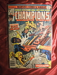 Click here to enlarge image and see more about item 110307042: THE CHAMPIONS 11 BRONZE AGE COMIC BOOK