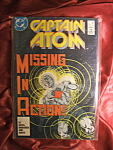 Click here to enlarge image and see more about item 110907020: Captain Atom #4 Missing in Action!. Comic book.