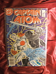 Captain Atom #7 comic book.