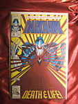 Darkhawk #25 comic book.