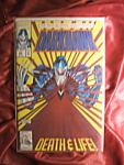 Darkhawk Death & Life comic book.