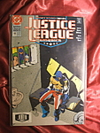 Justice League of America #49 comic book.