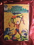 Legion of Super-heroes #43 comic book.