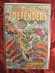 The Defenders #54 comic book.