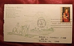 Click here to enlarge image and see more about item 112007017: Christmas 5 cent stamp 1st day of issue Bethlehem, GA.