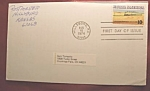 Rural America 10c stamp 1st day of issue and envelope