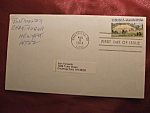 Rural America 1974 10c stamp first day of issue