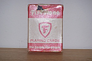FIRESTONE PLAYING CARDS (Image1)