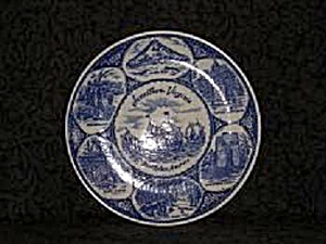 JAMESTOWN, VIRGINIA SOUVENIR PLATE (Image1)