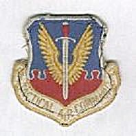 US AIR FORCE TACTICAL AIR COMMAND MILITARY PATCH (Image1)