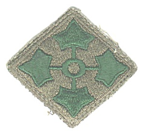 4th DIVISION MILITARY PATCH (Image1)