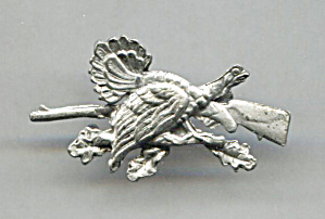 Bird & Rifle Hunting Pin