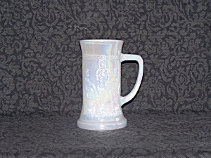 Federal Glass Stein W/tavern Scene