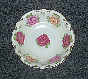 GERMANY DECORATED ROSES BOWL (Image1)