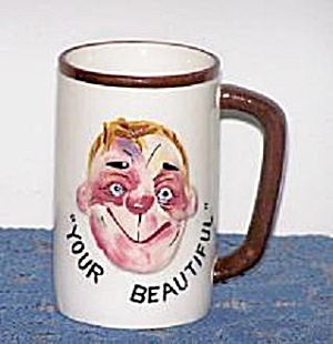 Stop Weaving, Drunk Face On Mug