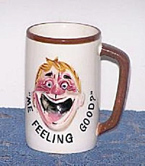 Me Feeling Good? Drunk Face On Mug