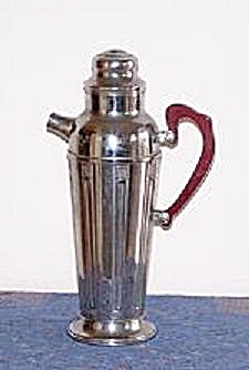 Deco Cocktail Shaker