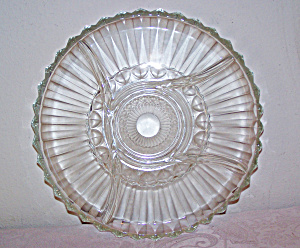 Glass Chip & Dip Plate