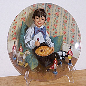 Little Jack Horner, Collector Plate