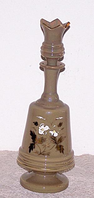 BRISTOL GLASS BOTTLE & STOPPER (Image1)