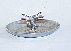 ART DECO Pair of PELICANS Ash Tray (Image1)