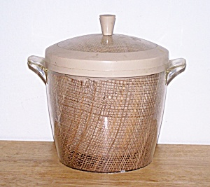 THERMAL WARE STRAW WEAVE ICE BUCKET (Image1)
