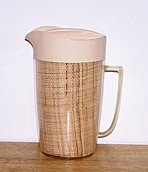 THERMAL WARE STRAW WEAVE PITCHER (Image1)