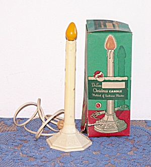 DE LUXE CHRISTMAS CANDLE IN ORIGINAL BOX (Image1)