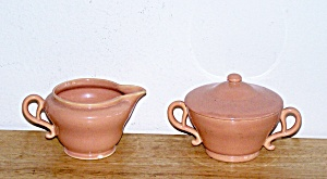 FRANCISCAN EL PATIO CREAM & SUGAR BOWL (Image1)