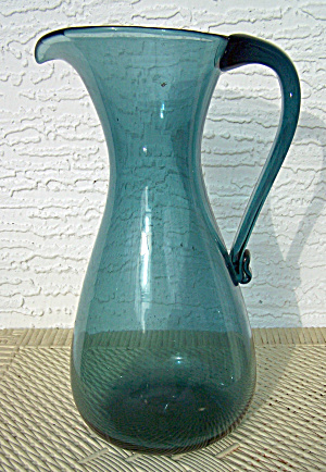 BLENKO GLASS TALL PITCHER (Image1)