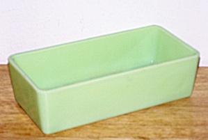 JADITE GLASS LOAF PAN (Image1)