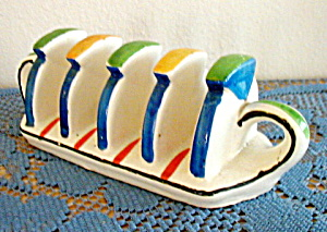 4 Slice Ceramic Toast Holder