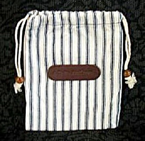 DELTA CLOTH DRAW STRING BAG (Image1)