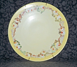 HAND PAINTED PLATE, J.P.L. FRANCE (Image1)